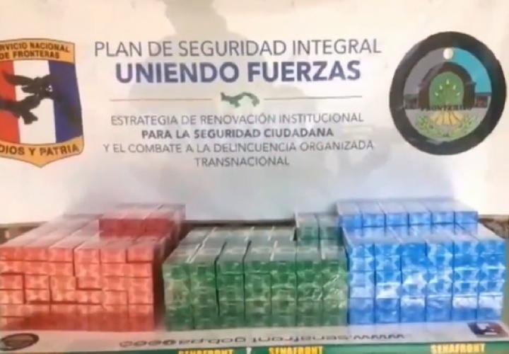 Incautan más de 18 mil cigarrillos de contrabando en Agua Fría