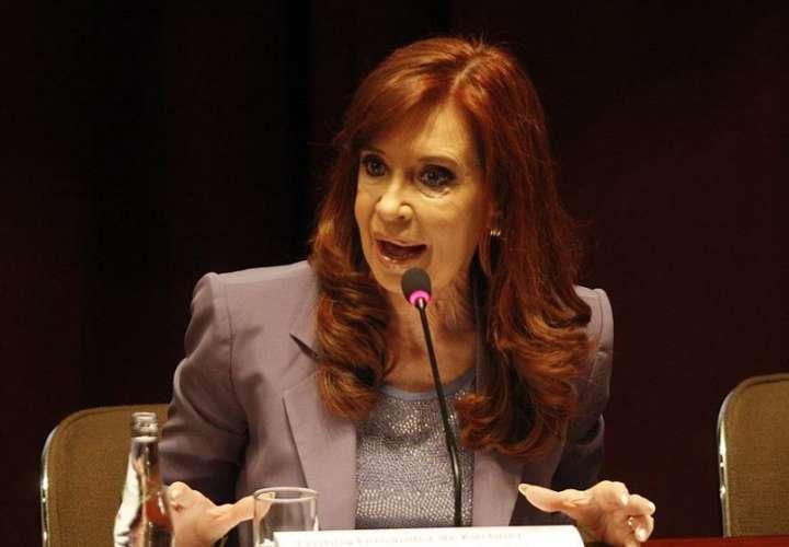 En la imagen, la vicepresidenta de Argentina, Cristina Fernández. EFE