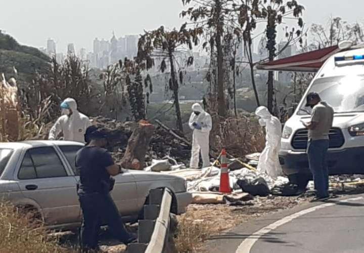 Encuentran cadáver en vertedero a orilla de la vía hacia Cerro Patacón  [Video]
