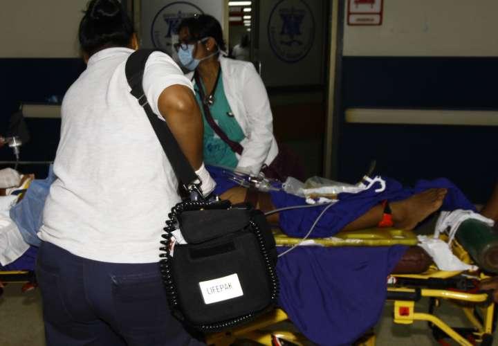 Mujer se encuentra en estado delicado al ser atropellada