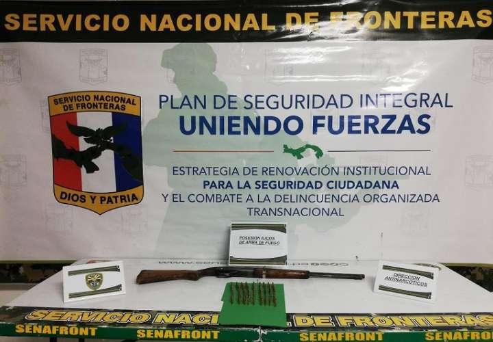 La acción se desarrolló en el Punto de Seguridad Integral de San Isidro.