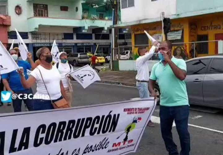 Deportistas y desempleados solicitan reactivación de obras en Colón