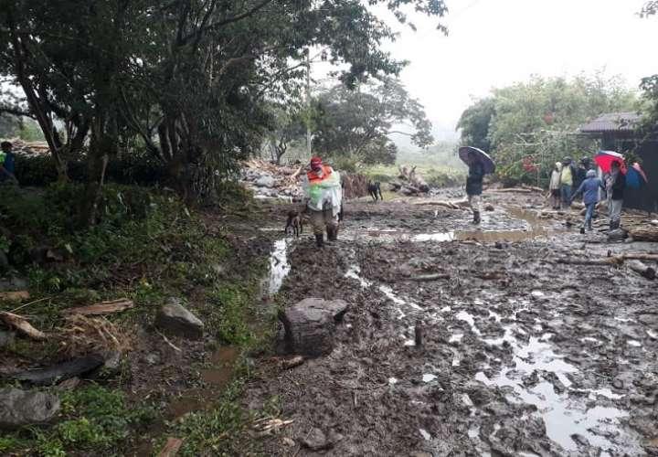 Muerte y destrucción deja mal tiempo en Chiriquí; confirman 5 víctimas fatales