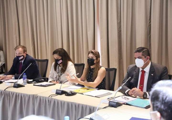 Diálogo de Seguridad de Alto Nivel entre Panamá y Estados Unidos.