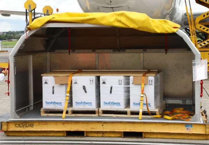 Llega a Panamá 70,200 nuevas dosis de vacuna de farmacéutica Pfizer