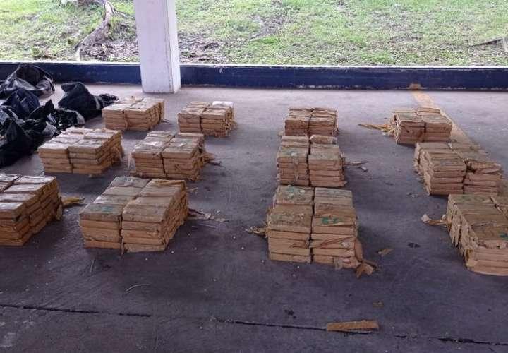Decomisan 480 paquetes de droga en contenedor en puerto de Panamá Oeste [Video]