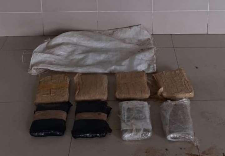 Ubican 8 paquetes de droga en cañaveral de Santiago; sin pistas de los narcos