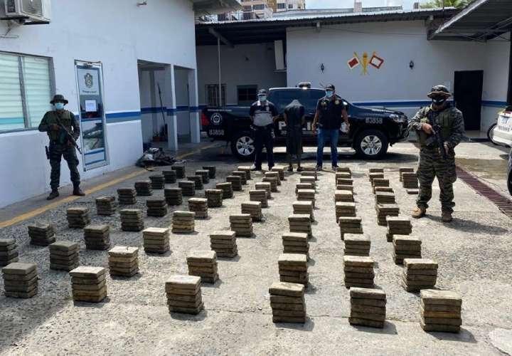 Colombiano, preso 9 años tras ser pillado en Costa de Este con 433 kilos de coca