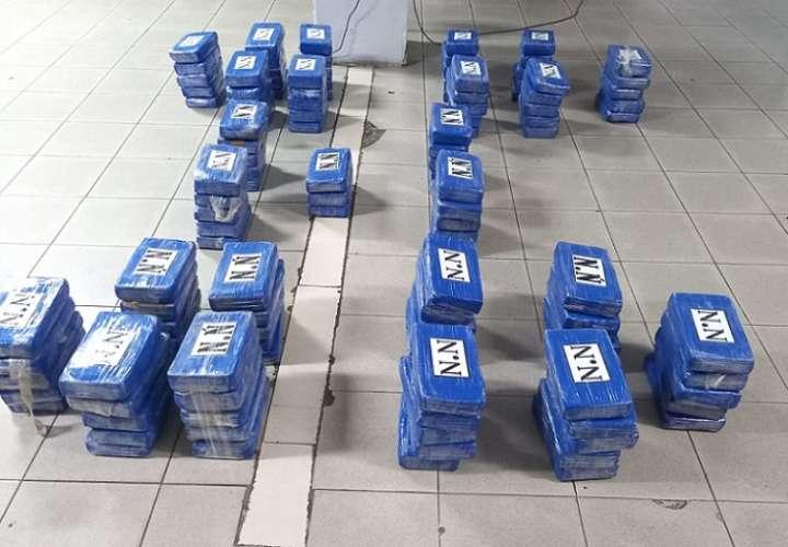 La droga iba oculta en un contenedor cargado con café.