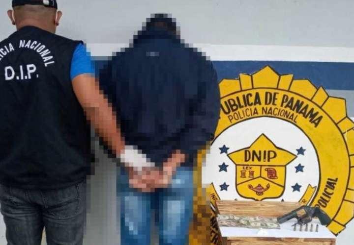 Decomisan arma, droga y dinero en Changuinola