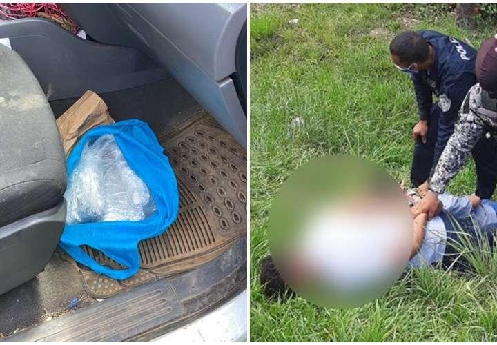 Encuentran droga en auto de Junta Comunal; hay dos detenidos
