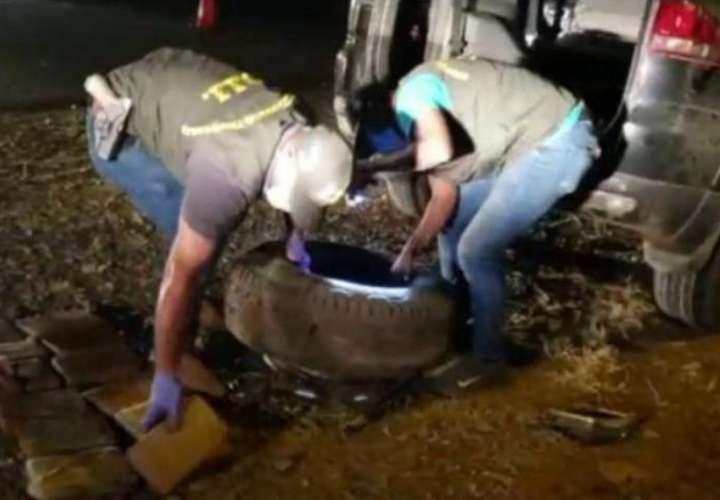 Senafront incauta droga en Chepo, Darién y Chiriquí