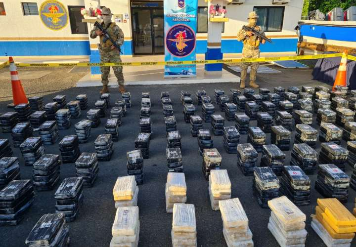 Decomisan 808 paquetes de droga en costas santeñas