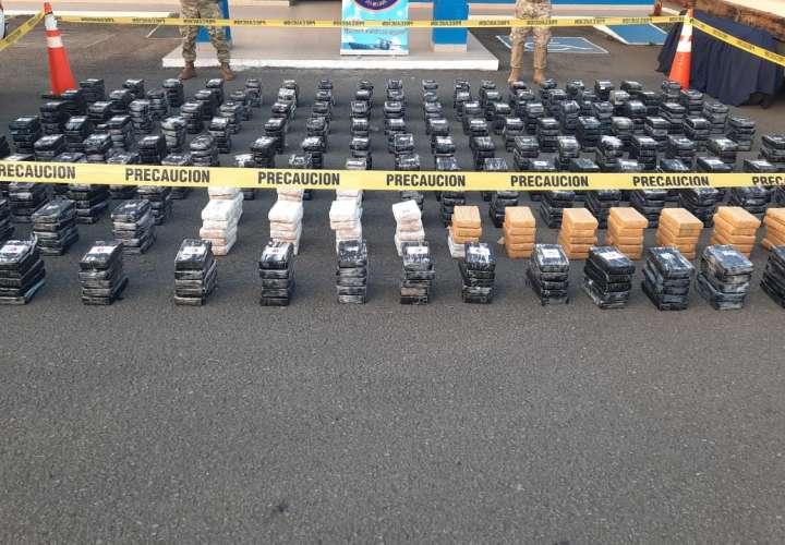 Incautan 59 toneladas de droga y más de mil armas en lo que va del año