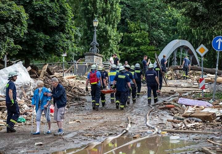 """""""Inundación de dimensión histórica"""" deja más de cien muertos en el oeste alemán"""