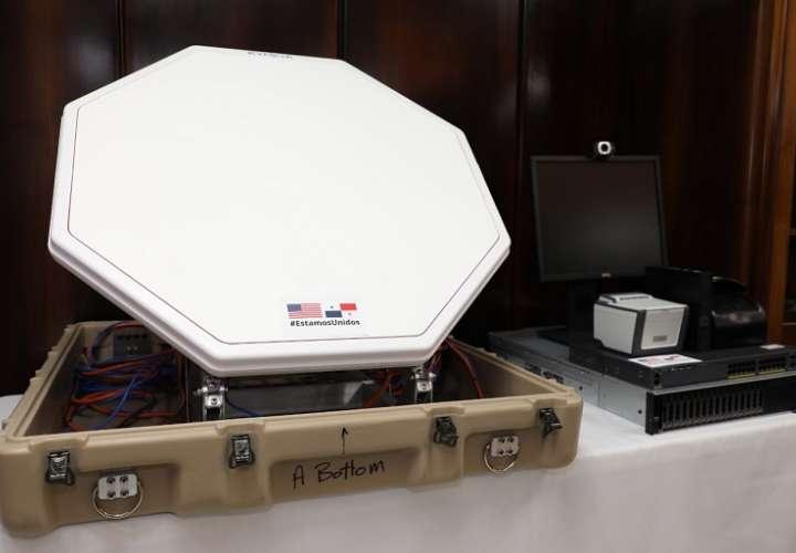 El equipo donado consistente en servidores y computadoras para los principales puertos de entrada panameños.