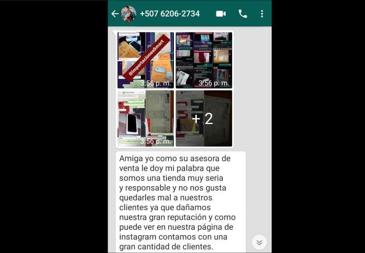 Estafan a varios chiricanos con venta de celulares 2x1