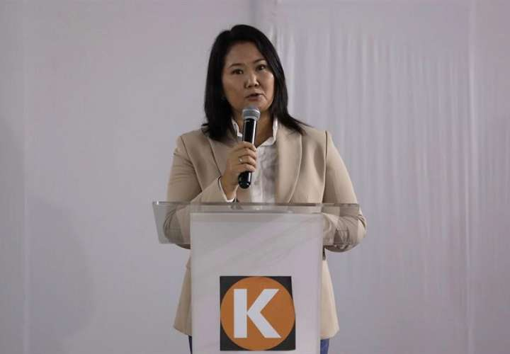 En la imagen, la excandidata presidencial peruana Keiko Fujimori. EFE