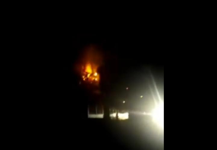 Explosión en Veracruz por choque contra poste eléctrico [Video]