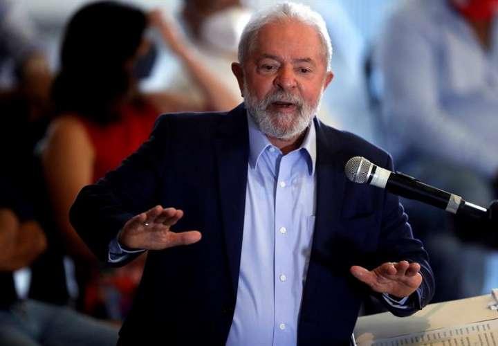 En la imagen, el expresidente brasileño Luiz Inácio Lula da Silva. EFE