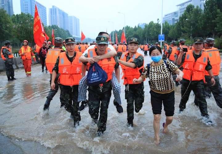 La cifra de muertos por las inundaciones en el centro de China sube a 58