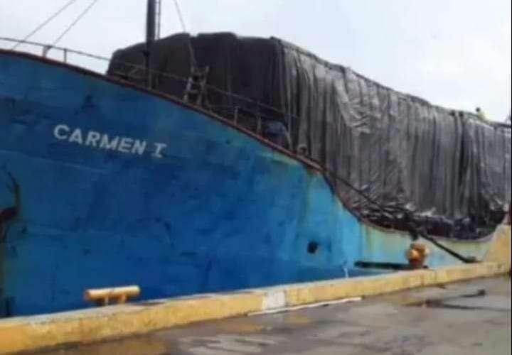 Desaparece barco colombiano con 409 toneladas de carga en Colón
