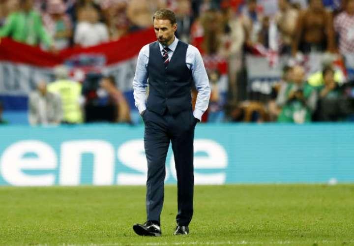 El entrenador  Gareth Southgate. Foto:AP