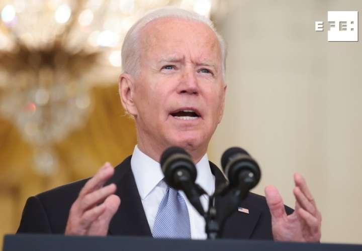 Biden afirma que la misión de EEUU en Afganistán nunca fue crear democracia
