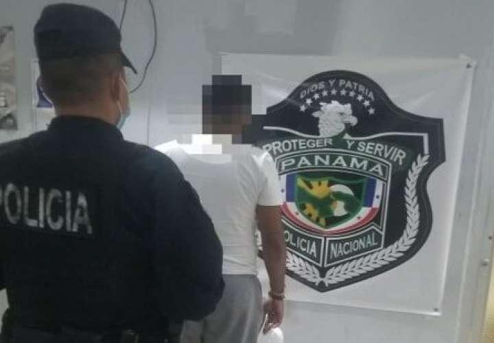 Capturan a homicida armado y con buco dinero en vía Brasil  [Video]