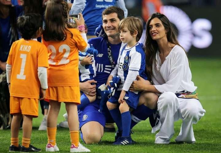 Iker Casillas y Sara Carbonero. /EFE