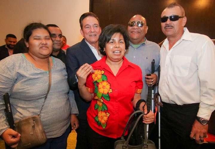 Nito pide condiciones para que gente con discapacidad vote