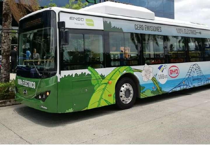Plan piloto para bus eléctrico en Panamá