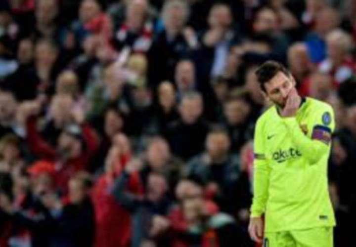 Messi sigue lesionado y no jugará ante el Betis