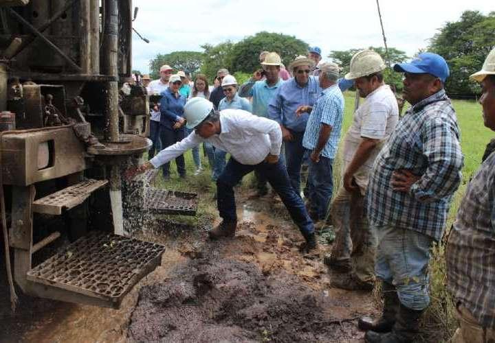 Se intensifica perforación de pozos para mitigar la sequía