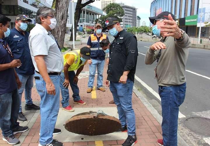Listan posibles causas de inundaciones en Vía Argentina