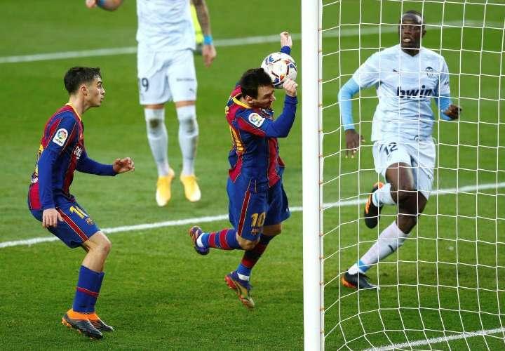 """""""Te admiro mucho"""", le dice Pelé a Messi"""