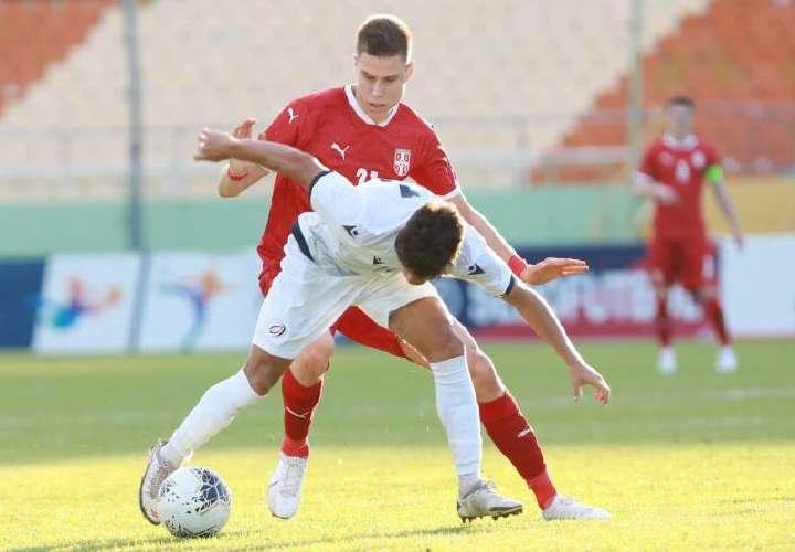 República Dominicana empató a cero goles con Serbia