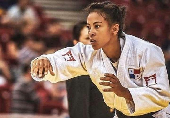 Judoca panameña Miryam Roper mantiene clasificación directa a Tokio