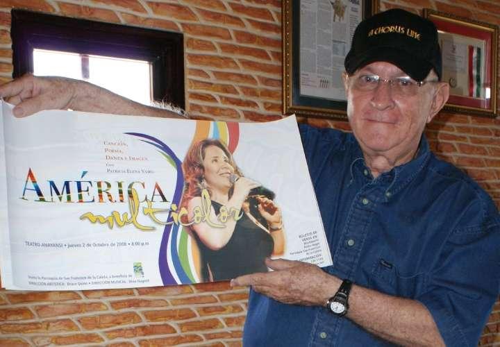 Fallece el pionero de los musicales en Panamá, Bruce Quinn