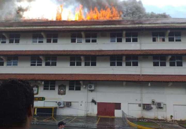Fuego en el SPI