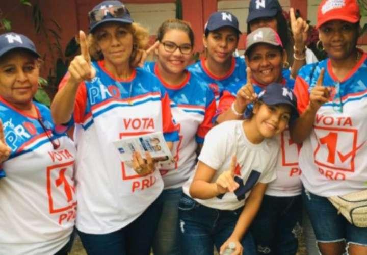 Mujeres torrijistas piden plazas de empleos al gobierno de Cortizo