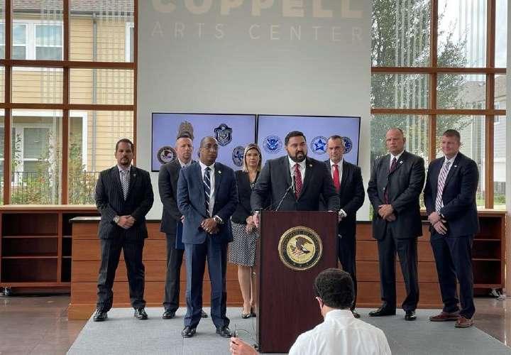 Caraballo se reúne en Texas con agencias de EEUU para frenar cartel del Golfo