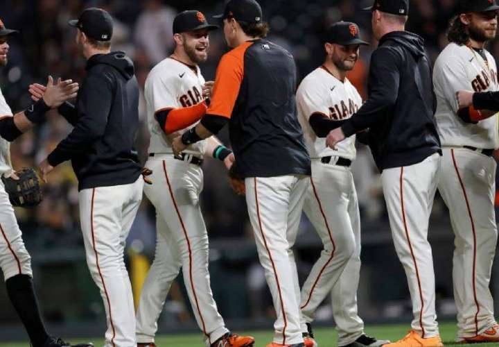 Gigantes de San Francisco, primer equipo clasificado para los playoffs de la MLB