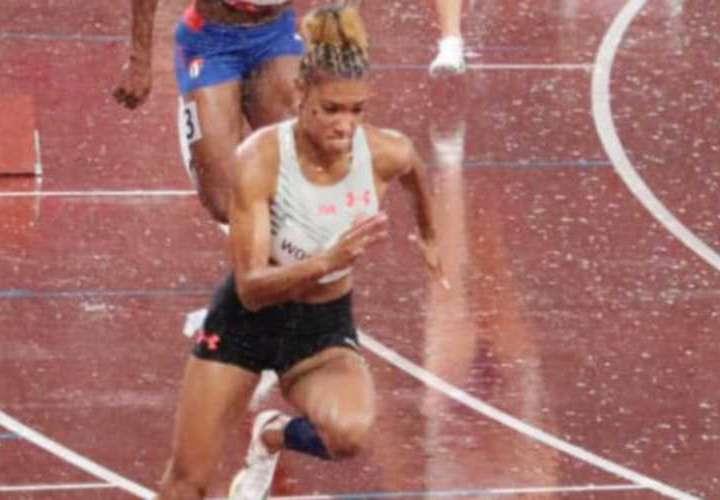Panameña Gianna Woodruff fija su próximo objetivo en el mundial de Atletismo