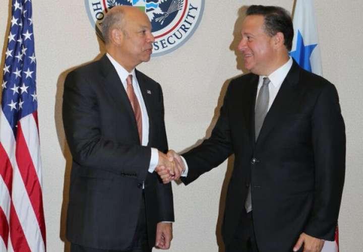Panamá y EEUU analizan temas de seguridad y migración