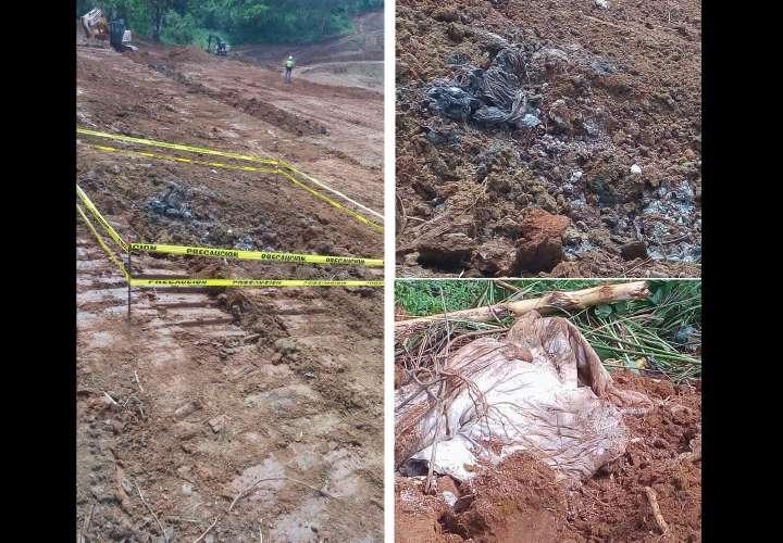 Sin identificar restos óseos encontrados en Villalobos