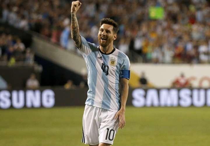 Lionel Messi es uno de los principales protagonistas de la selección argentina. Foto: EFE