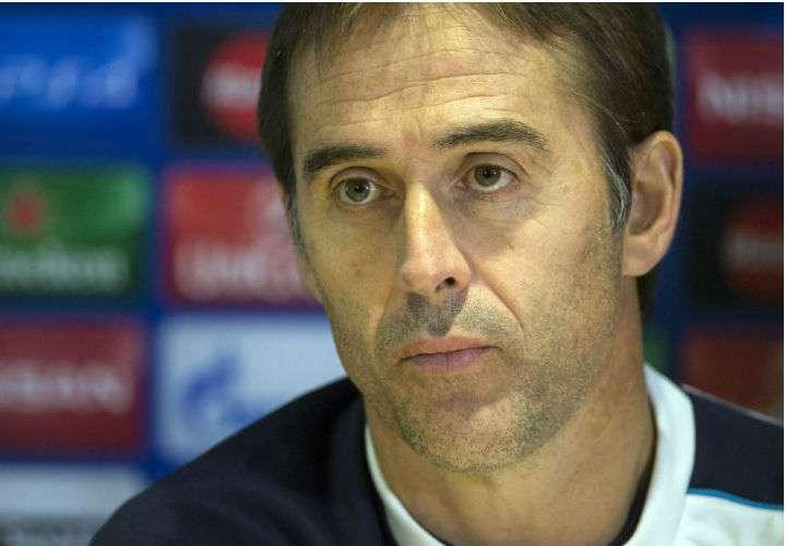 Julen Lopetegui es el director de la selección española. Foto EFE