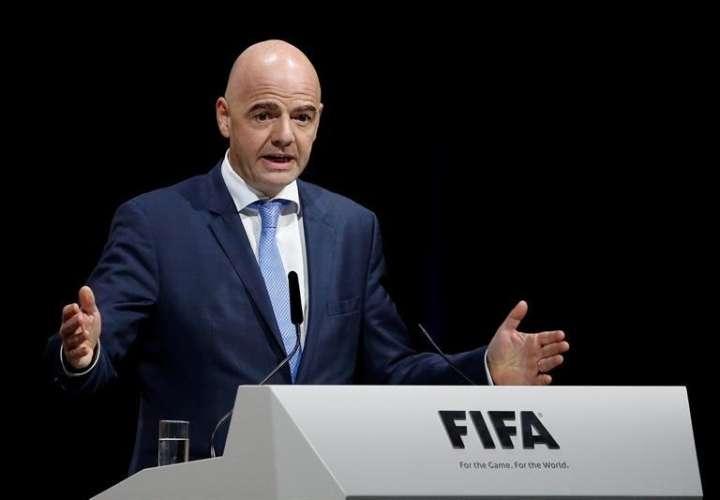 Gianni Infantino se desempeña como presidente de la Fifa desde el 26 de febrero de 2016. Foto EFE