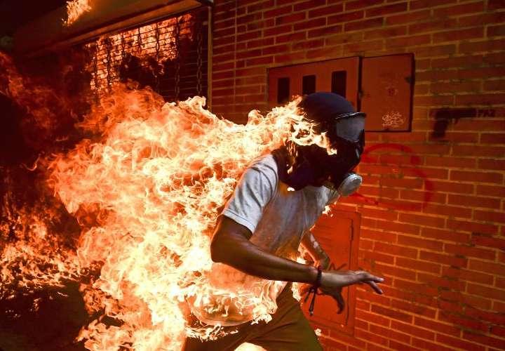 Venezolano gana el World Press Photo